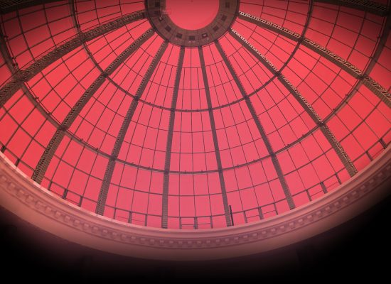 Domed Roof with Scarlet Light