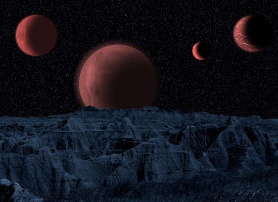 Four Red Moons